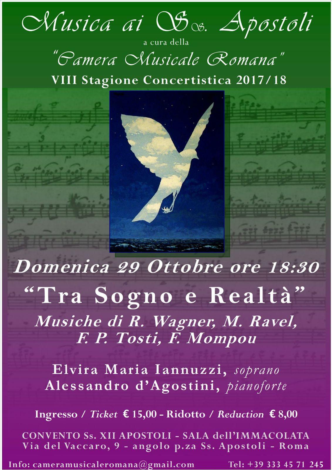 concerto 29 ottobre